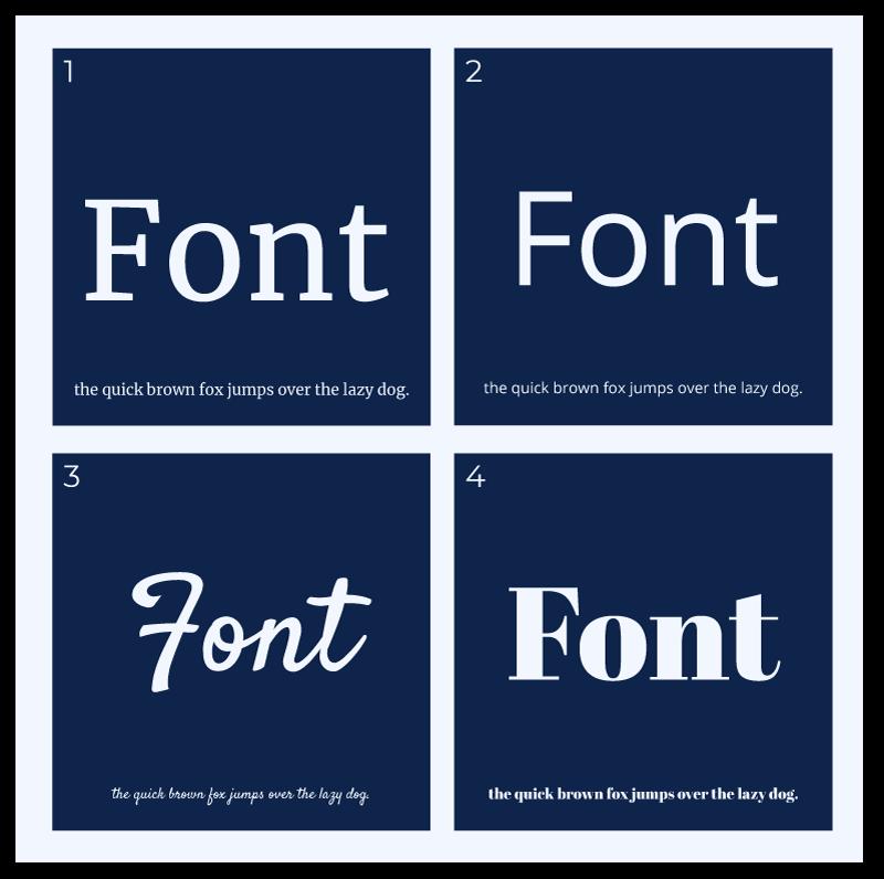 Welche Schriftart für deine Website? – verschiedene Schriftgruppen